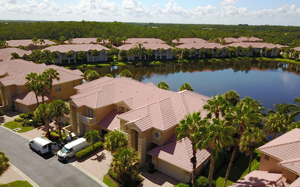 Roof Maintenance and No Pressure Roof Cleaning Naples Florida